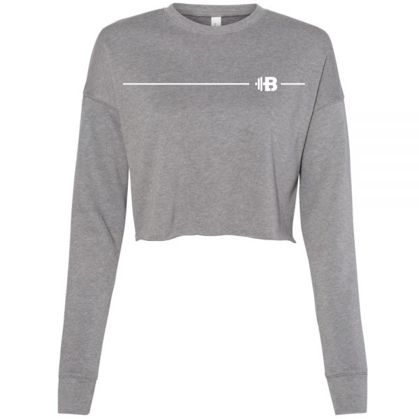 Brittany Lynne Fitness Cropped Long Sleeve - front hero image