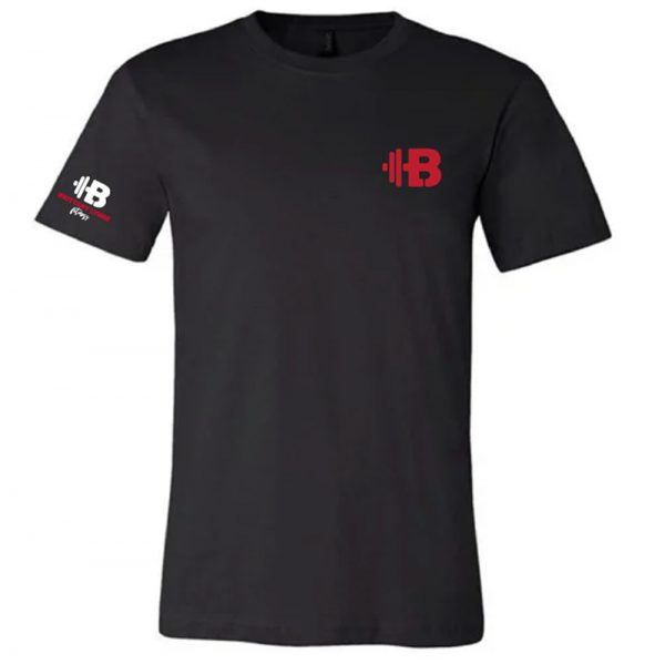 Brittany Lynne Fitness Black T-Shirt - front hero image