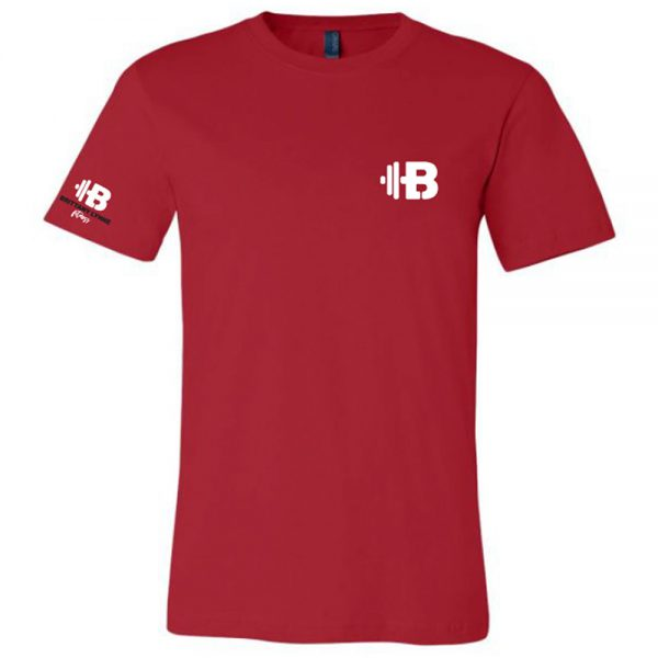 Brittany Lynne Fitness Red T-Shirt - front hero image
